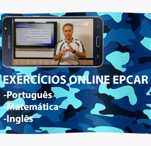 Exercícios em vídeo EPCAR  - MOVAME CURSOS EDUCACIONAIS