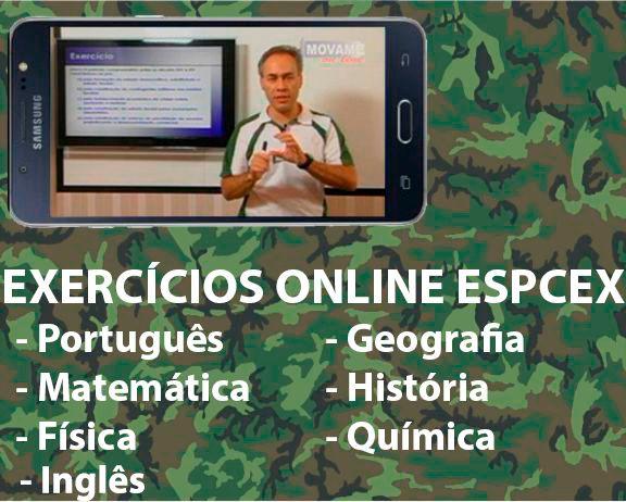 Exercícios em vídeo EsPCEx  - MOVAME CURSOS EDUCACIONAIS