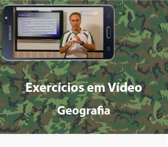 Exercícios em vídeo Geografia  - MOVAME CURSOS EDUCACIONAIS
