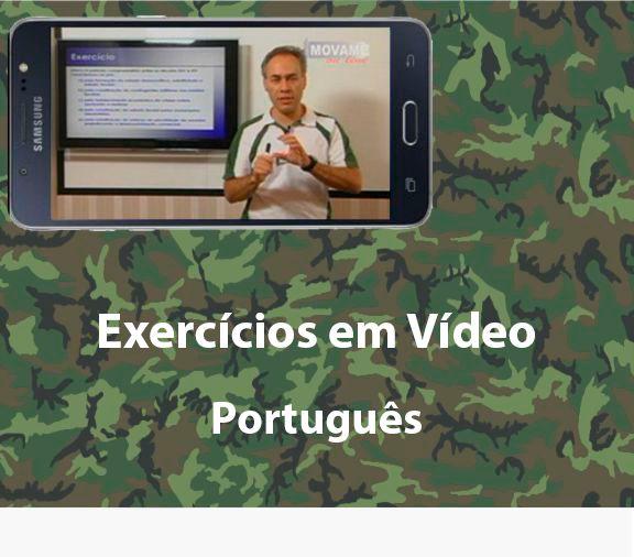 Exercícios em vídeo Português  - MOVAME CURSOS EDUCACIONAIS