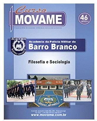 Apostila Filosofia e Sociologia Barro Branco APMBB  - MOVAME CURSOS EDUCACIONAIS