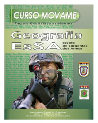 Apostila Geografia EsSA  - MOVAME CURSOS EDUCACIONAIS