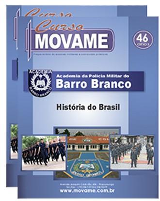 Apostila História Barro Branco APMBB  - MOVAME CURSOS EDUCACIONAIS