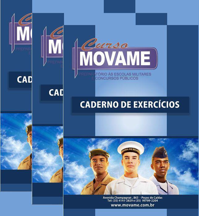 -Kit Caderno de Exercícios  - MOVAME CURSOS EDUCACIONAIS