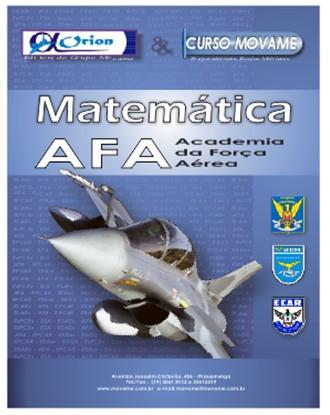 Apostila Matemática - Academia da Força Aérea - AFA  - MOVAME CURSOS EDUCACIONAIS