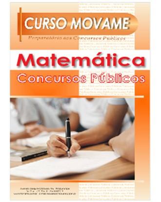 Apostila Matemática Concurso Público  - MOVAME CURSOS EDUCACIONAIS