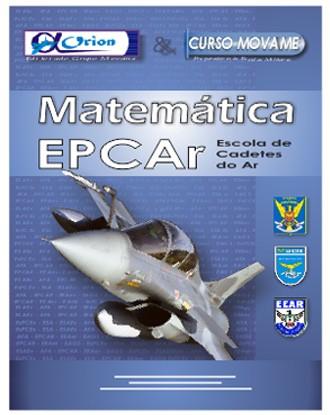 Apostila Matemática EPCAr  - MOVAME CURSOS EDUCACIONAIS