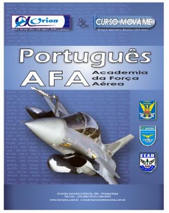 Apostila Português Academia da Força Aérea AFA  - MOVAME CURSOS EDUCACIONAIS