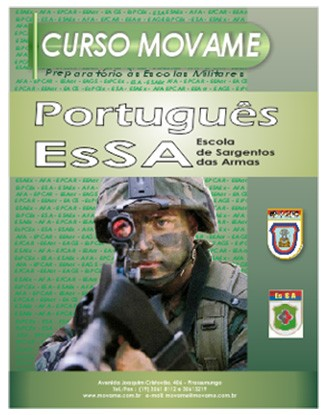 Apostila Português EsSA  - MOVAME CURSOS EDUCACIONAIS