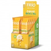 Barra de Cereal Banana, Aveia e Mel Display 240g - Trio