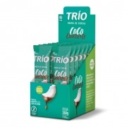 Barra de Cereal Coco com Chocolate Display 240g - Trio