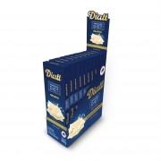 Chocolate Diet Branco Sem Adição de Açúcar 300g Display 25g x 12 - Diatt