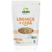 Farinha Linhaça + Chia Orgânico 150g - Vitalin