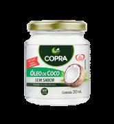 Óleo de Coco Sem Sabor 200ml Copra