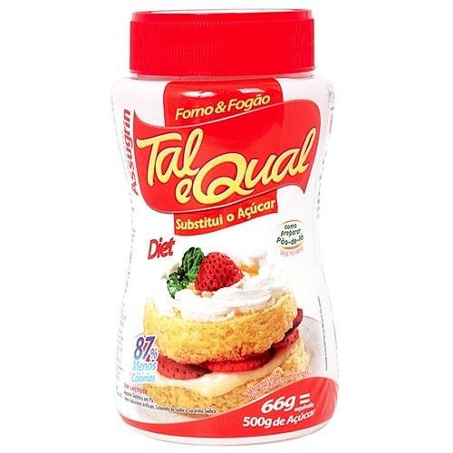 Adoçante Dietético em Pó Diet 66g -  Tal e Qual