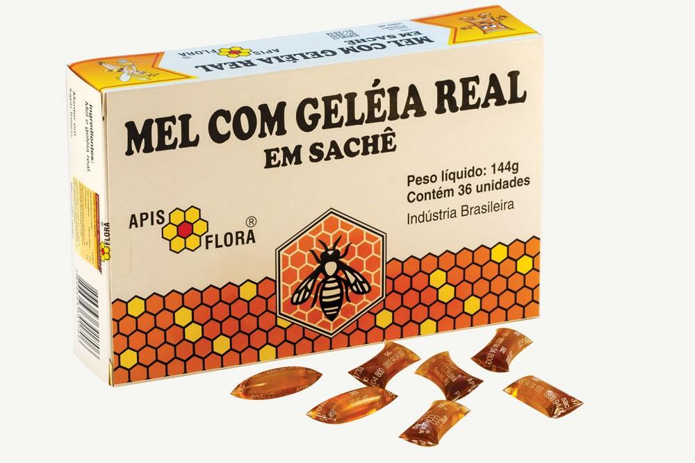 Composto de Mel com Geleia Real em Sachê 144g - Apis Flora