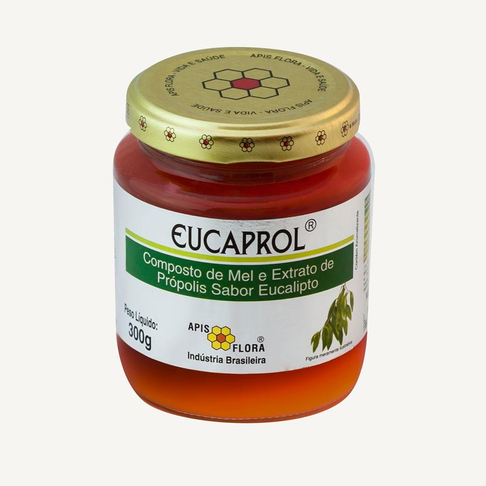 EucaProl Mel e Extrato de Própolis sabor Eucalipto 300g - Apis Flora