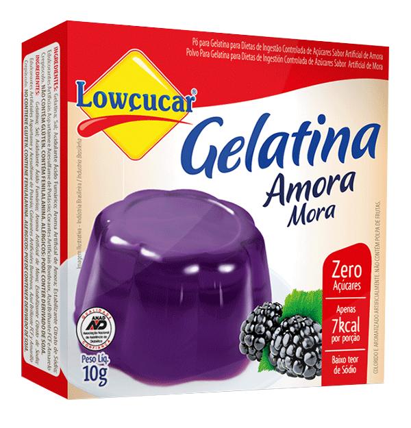 Gelatina Amora Zero Açúcar 10g - Lowçúcar