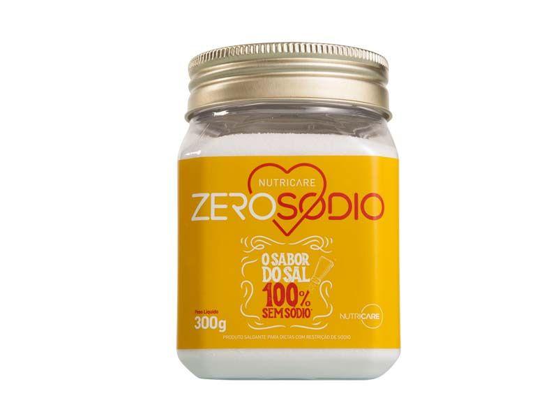 Sal Zero Sódio 300g - Nutricare