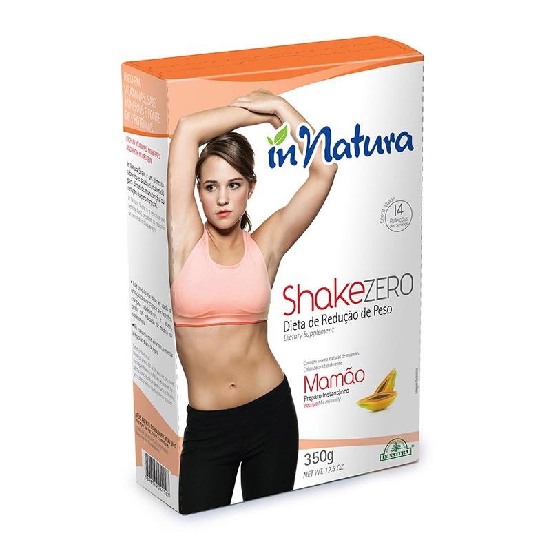 Shake Zero Mamão 350g - In Natura