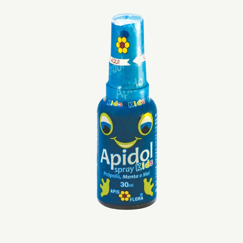 Spray Apidol Própolis, Menta e Mel 30ml - Apis Flora
