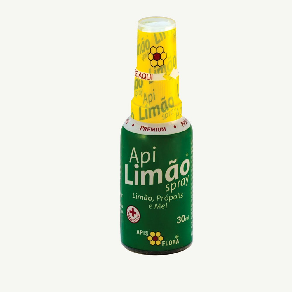 Spray ApiLimão Limão, Própolis e Mel 30ml - Apis Flora