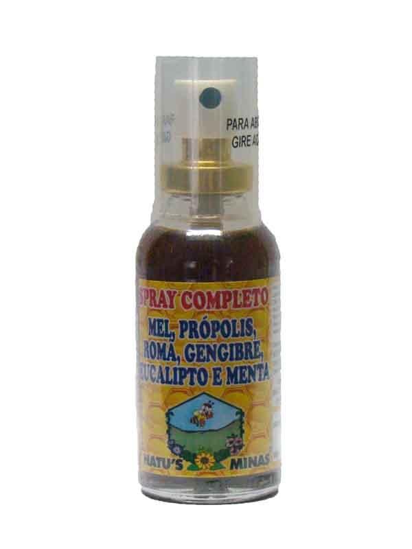 Spray Completo Mel, Própolis, Romã, Gengibre, Eucalipto e Menta - Natus MInas