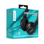 Fone bluetooth 5.0 com acabamento premium Headphone