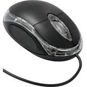 MOUSE ÓPTICO USB MB-10 PRETO 800 DPI