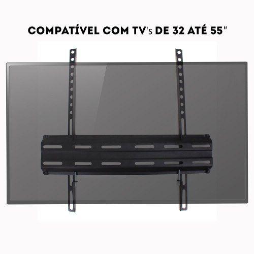 Suporte para tv fixo para tv de 32 a 55 polegadas
