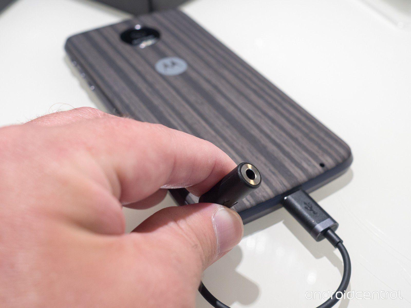 Adaptador Tipo C USB para cabo de áudio de 3,5 mm