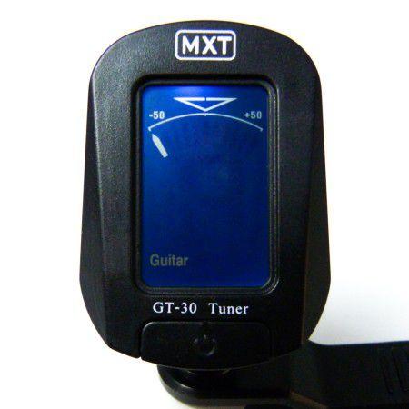 Afinador Digital Cromático Para Violão,guitarra Mxt Gt-30