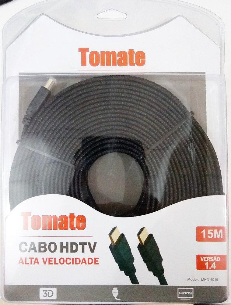 Cabo HDMI 15 Metros HDTV 1080p
