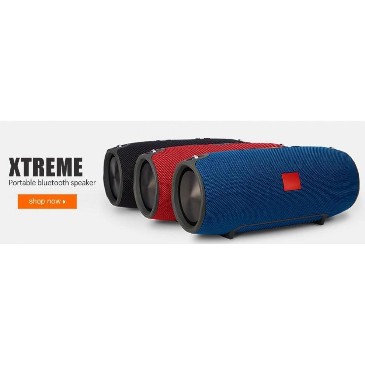 Caixa De Som Bluetooth Xtreme Potente Portátil Amplificada