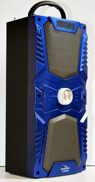 Caixa De Som Portátil Bluetooth Amplificada Com Microfone