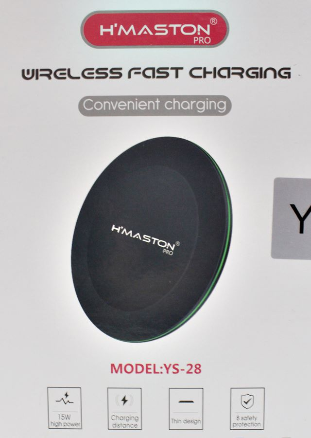 Carregador Sem Fio Wireless Qi Fast Charger Samsung iPhone 15w
