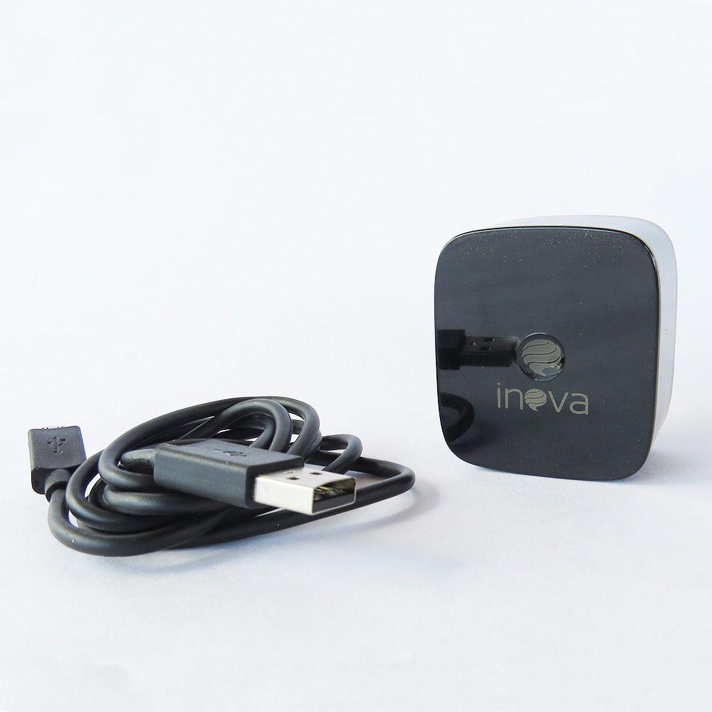 Carregador turbo inova v8 micro usb