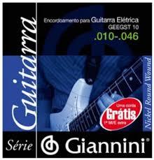 ENCORDOAMENTO PARA GUITARRA ELÉTRICA GEEGST 10 - .010-.046