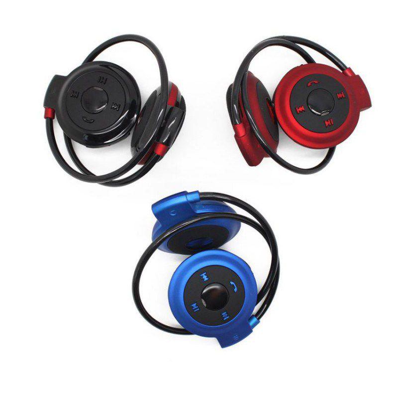 Fone De Ouvido Bluetooth Headset entrada sdcard