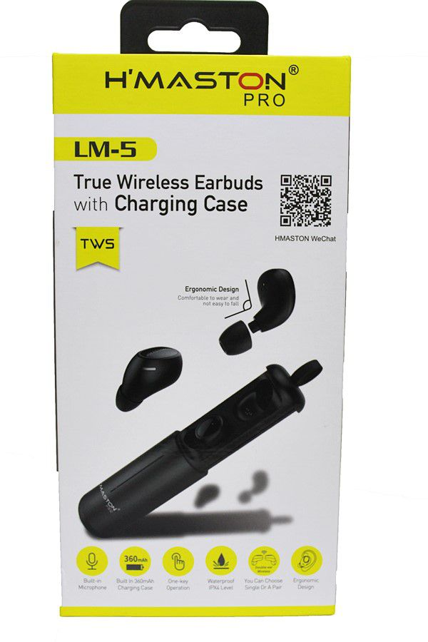 Fone De Ouvido Bluetooth Pro com case recarregável