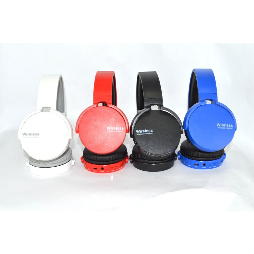 Fone De Ouvido Estéreo Sem Fio Extra Bass Bluetooth Azul