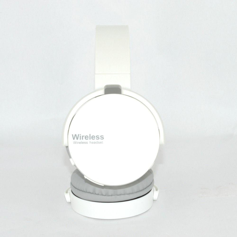 Fone De Ouvido Estéreo Sem Fio Extra Bass Bluetooth Branco