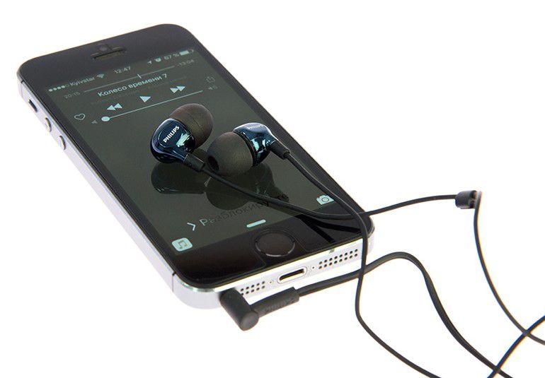 Fone de Ouvido Intra Auricular Philips  SHE3700BK/00 Preto