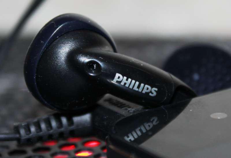 Fone de Ouvido Philips SHE1350/00 Preto