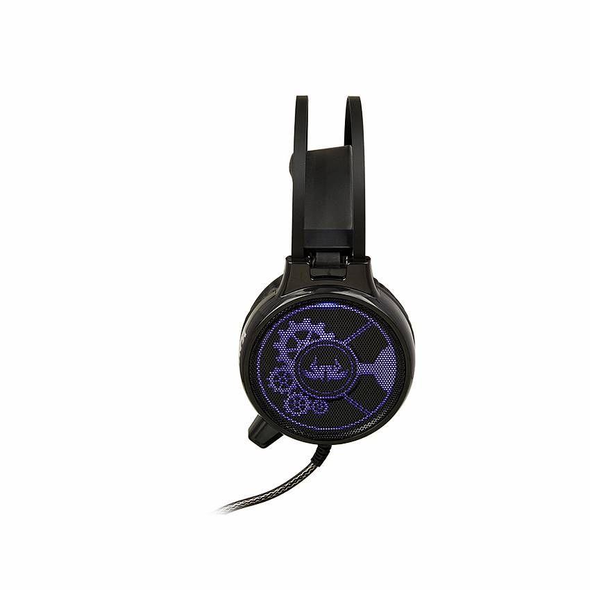 Fone Headset Gamer 7.1 bass vibration com led