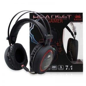 Fone Headset Gamer com led Som surround 7,1
