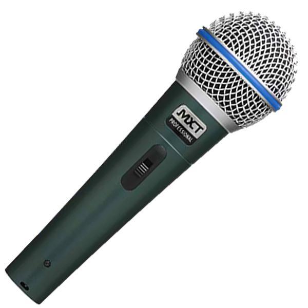 Kit C/ 3 Microfones Profissionais Mxt Bt58a Cachimbos+maleta
