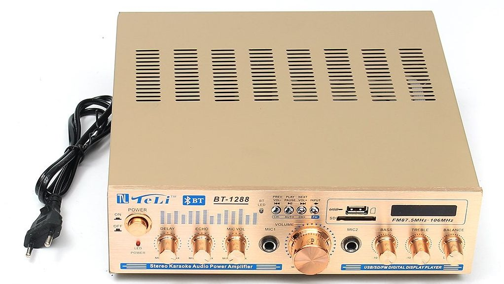 Kit de som ambiente caixas JBL amplificador com Bluetooth kit-D1