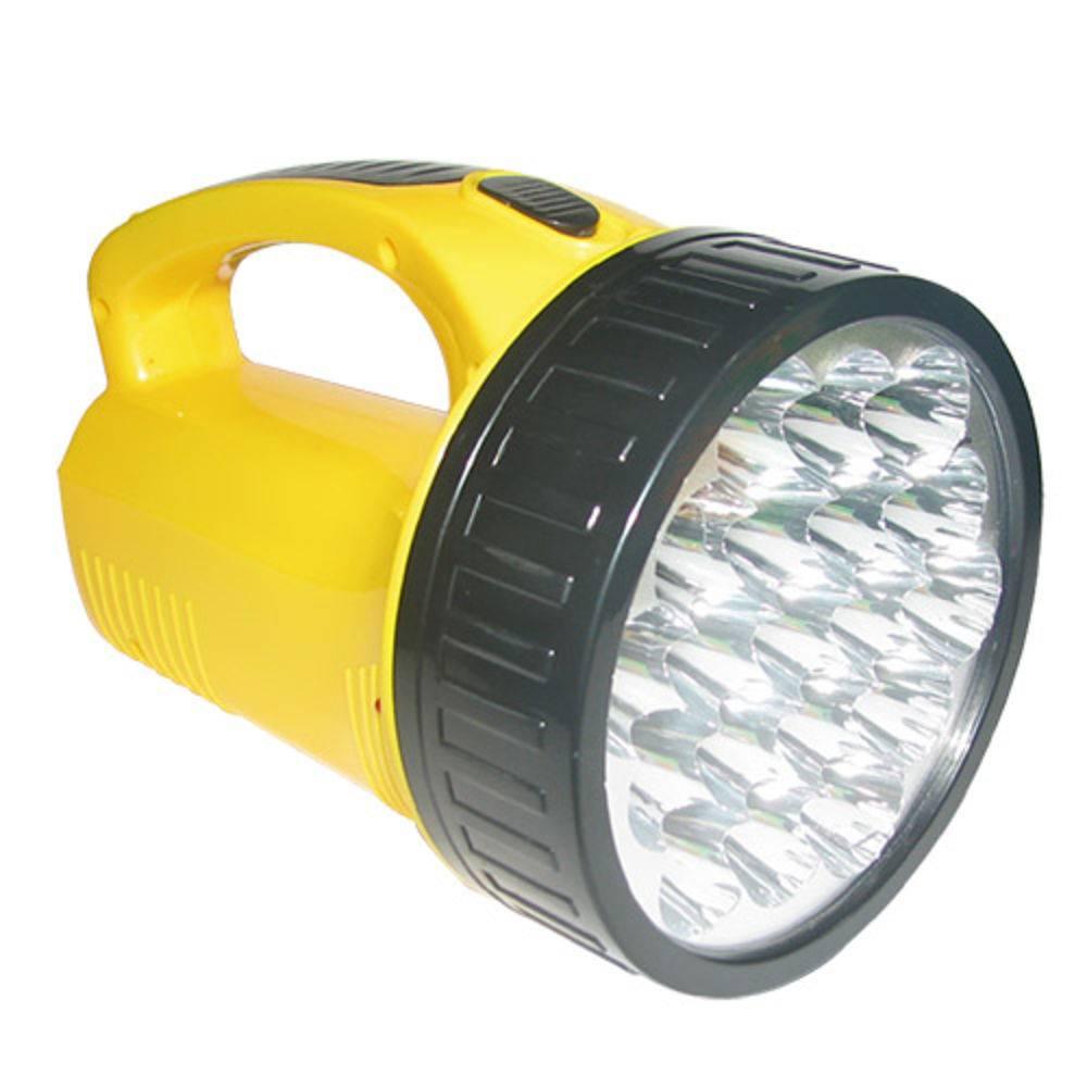 Lanterna recarregável 19 leds bivolt