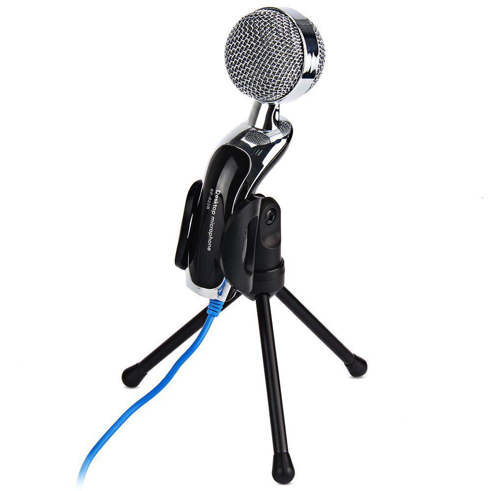Microfone Condensador omnidirecional anti-ruido Jiaxi Sf-401